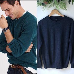 J.Crew Soft Spun Slim Elbow Patch Sweater